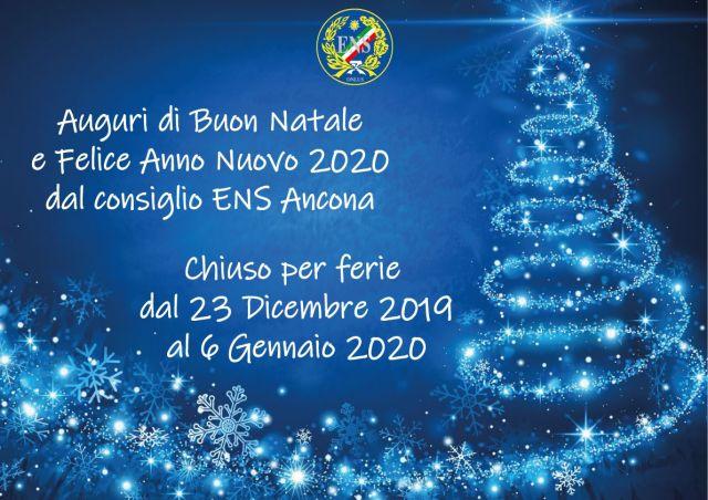 La Sezione Provinciale Di Ancona Augura Di Buon Natale E Felice